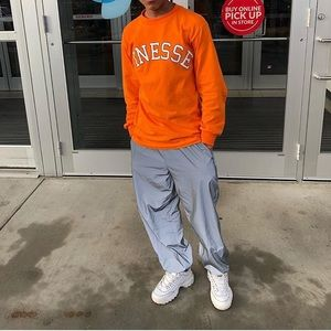 "Orange ""Finesse"" Fashionova Man Shirt"